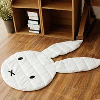Miffy bunny play mat / matras alas tidur bayi import murah
