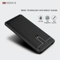 Nokia 8 Carbon Fiber Neo Hybrid Soft Case