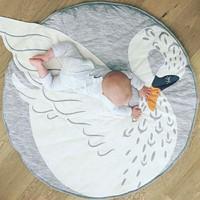Swan playmat / matras alas tidur bayi import murah / play mat