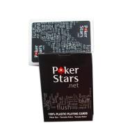 Kartu Remi Poker Plastik - Black
