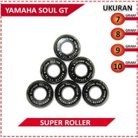 SUPER ROLLER BLACK DIAMOND BRT YAMAHA SOUL GT (7,8,9,10 GRAM)