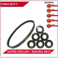 DRIVE BELT WITH SUPER ROLLER BRT BEAT FI