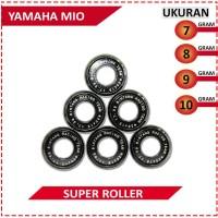 SUPER ROLLER BLACK DIAMOND BRT YAMAHA MIO (7,8,9,10 GRAM)
