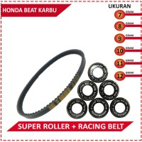 DRIVE BELT WITH SUPER ROLLER BRT BEAT KARBU