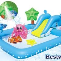 Kolam Renang Anak Fantastic Aquarium Play Pool Bestway