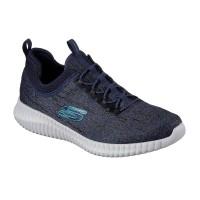 Men's Skechers Elite Flex - Hartnell - Navy Blue
