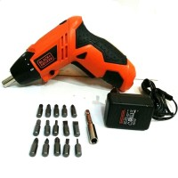 Murah ALAT PERTUKANGAN Black & Decker 4.8v Electric Screwdriver