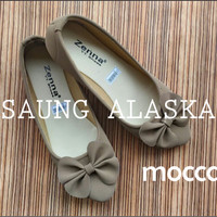 Sepatu Wanita Flat Shoes Pita Murah AB02