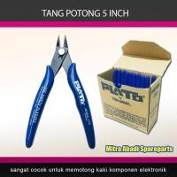 "Tang Potong Kawat/Kabel TNI-U-109 5""/5 Inch 127mm PLATO model 170"