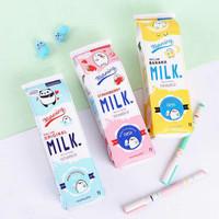 Tempat Pensil bentuk Kotak Susu / Bottle Milk Pencil Case