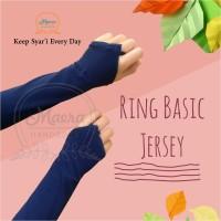 Maera Jersey Ring Basic / Manset Cincin Jersey (Tanpa renda)