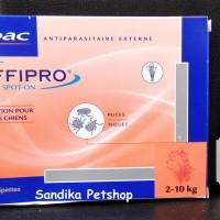 OBAT KUTU ANJING VIRBAC EFFIPRO 1 PIPET SIZE 2 - 10 KG, NO FRONTLINE