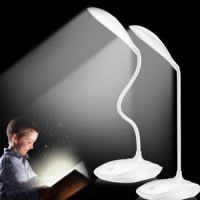 OT035 Lampu Belajar LED Rechargeable Portable Lampu Baca USB Desk Lamp
