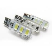 T10 Crystal/Kristal Jelly 6 Mata Led 5730 Lampu Senja Sen Speedometer