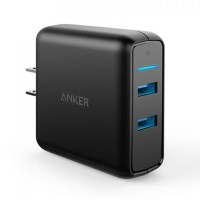 Anker Wall Charger PowerPort Speed 2 Quick Charge 3.0 Hitam - A2025J11