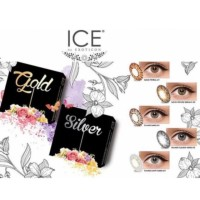 [Free Ongkir] ICE Silver/Gold by Softlens EXOTICON X2 (7 Pilihan Warna