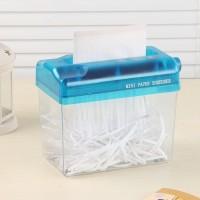 Alat Penghancur Kertas Dokumen Mini Manual-MiniPaper Shreeder Portabel