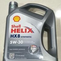 """Oli Mesin Shell HX8 5W-30 SN 4LT  62414 """""""