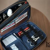 Dustin Blue Clutch Vape Bag | Vaporizer | Tas Vape | Bova Bag