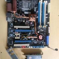 Motherboard ASUS Blizt Formula Dual Lan DDR2 Lga 775 GARANG !!!