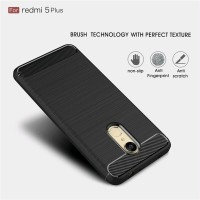 Case Ipaky Carbon Fiber XIAOMI REDMI 5 PLUS Softcase Shockproof TPU
