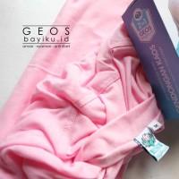 Gendongan Kaos Geos Instan 2 in 1 Baby Wrap - Baby Pink