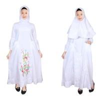 Baju Gamis Anak Putih Fayrany FGP-010A Usia 12 - 14 Tahun