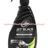 Turtle Wax Jet Black Spray Wax 16 Oz Cairan Mengkilapkan Mobil Hitam