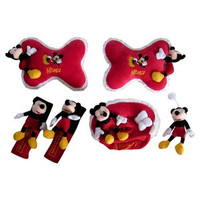 mobil all new jazz car set bantal mobil 3 in 1 boneka mickey mouse