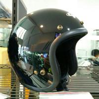 Helm Zeus Z385 Retro Black Glossy