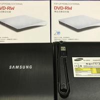 Portable DVD Writer DVD - RW External Samsung DVD RW optical drive