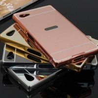 COVER MIRROR BACK COVER CASE SONY Z5 COMPACT HANDPHONE TABLET