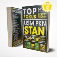 BUKU TOP FOKUS USM PKN STAN (ORIGINAL BOOK+CD)