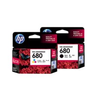 CATRIDGE HP 680 (COLOR/BLACK) ORIGINAL HP