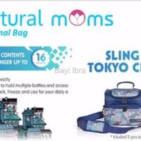 Tas Asi Natural Moms Cooler bag Natural Mom Thermal Bag Sling Tokyo