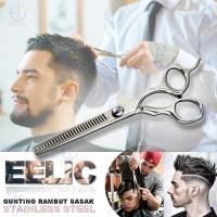 EELIC GUR-S062 Gunting Potong Rambut Sasak Stainless Steel