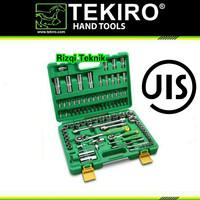"""TEKIRO Kunci Socket Set 1/4""""-1/2"""" 94 Pcs 6PT"""