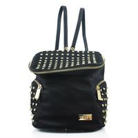 Tas Backpacks Stud Bellagio Black