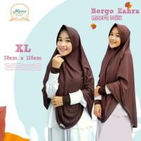 Maera Bergo Zahra Size XL / Jilbab Kaos Size XL (Pakai Pet)