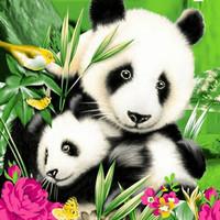 Selimut Internal 160x200 Panda