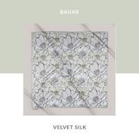 Hijab Turki Hijau Velvet Silk BAHAR YZ13-240