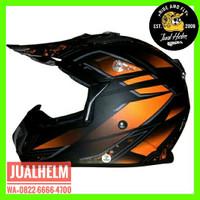 Helm Snail 315 Orange / Helm Full Face / Helm Cross