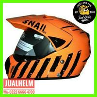 Helm Snail 310 Orange / Helm Full Face / Helm Cross