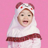 jilbab bayi anak karakter lucu imut murah