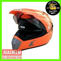 Helm Snail MX311 Orange / Helm Full Face / Helm Cross