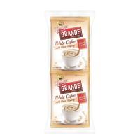 Kapal Api Grande White Coffee Topping Pack 10 (Isi 10 Sachet @20 Gram)