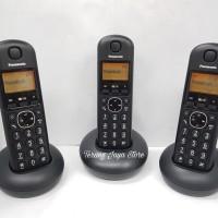Telepon Wireless Panasonic KX-TGB213 (3 Handset) Hitam