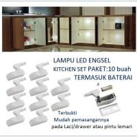 Engsel sendok Kitchen set lampu LED