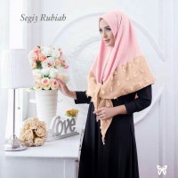 jilbab kerudung Segi tiga Rubiah pasmina instant  Segi 3 rubiah,