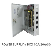 CCTV Power Supply Box 12V DC 20A SPC